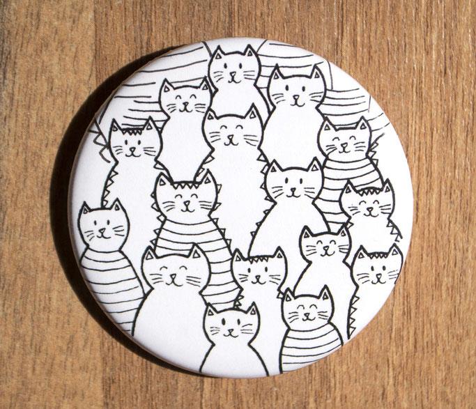 Macaron Foule de chats