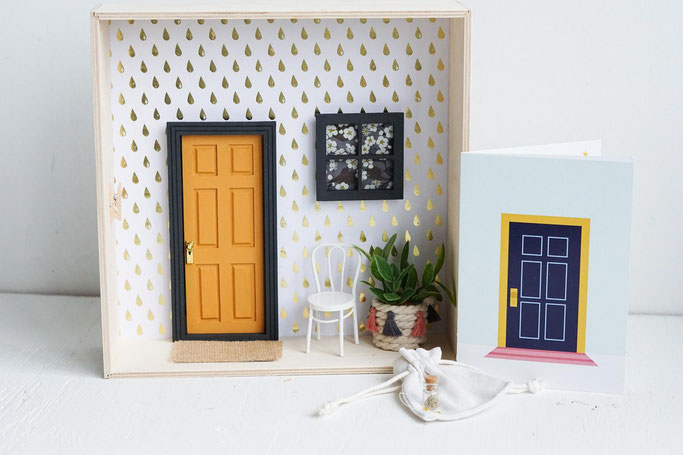 Etsy Qc, Relève, Le mini atelier, monde miniature