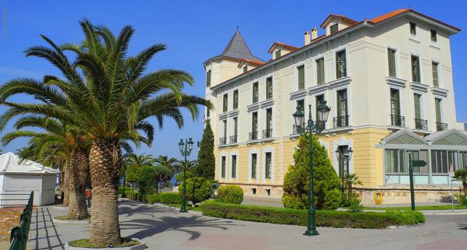 Hotel  Thermae Sylla Wellness Seitenansicht Griechenland