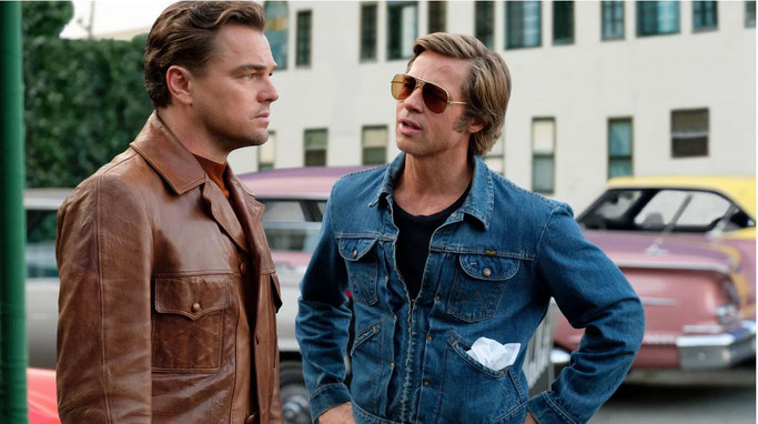 """Brad Pitt in """"Once upon a time in Hollywood"""" (2019)  (c) Sony Pictures"""