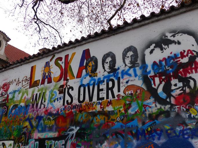 De muur in 2015
