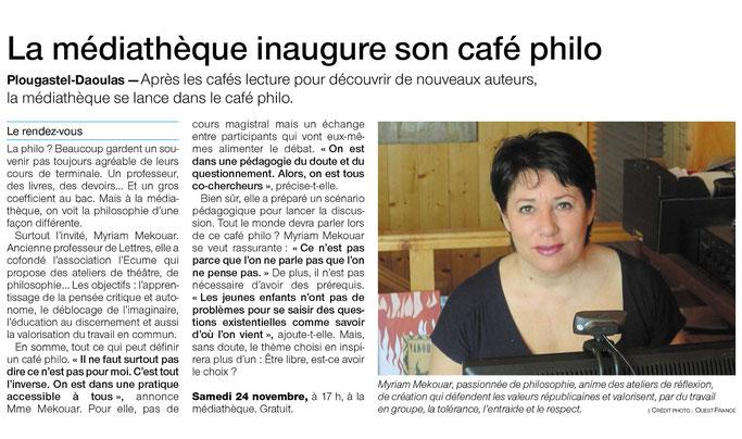 Merci à Alain Prigent de Ouest France pour cet article !