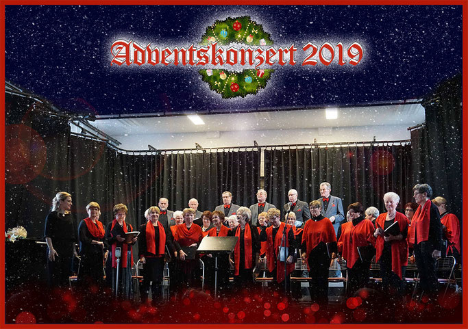 Der Chor des Seniorenverein PCK e.V. Schwedt