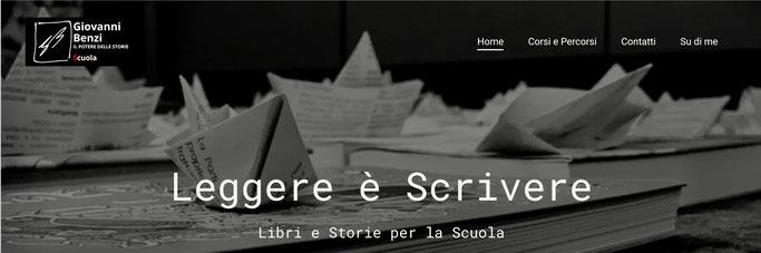 Home page del sito di Giovanni Benzi dedicato alla Scuola
