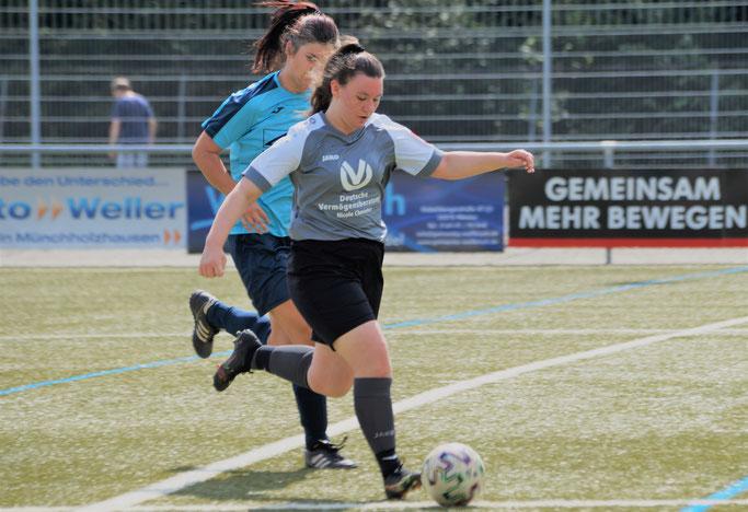 Amela Adrovic erzielte beide Tore beim Sieg der FSG Ebsdorfergrund über den RSV Büblingshausen