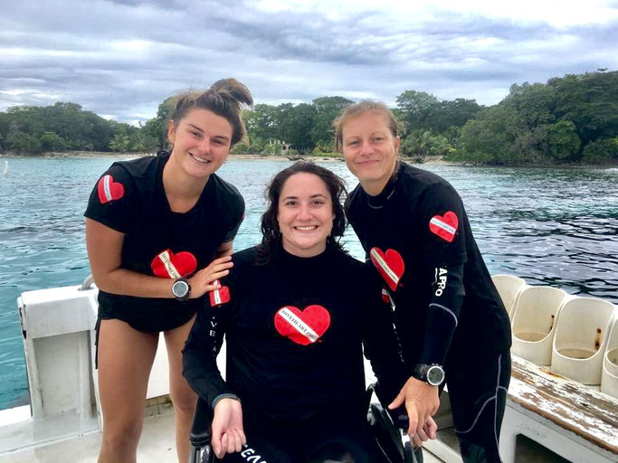 can you scuba dive when paralyzed?