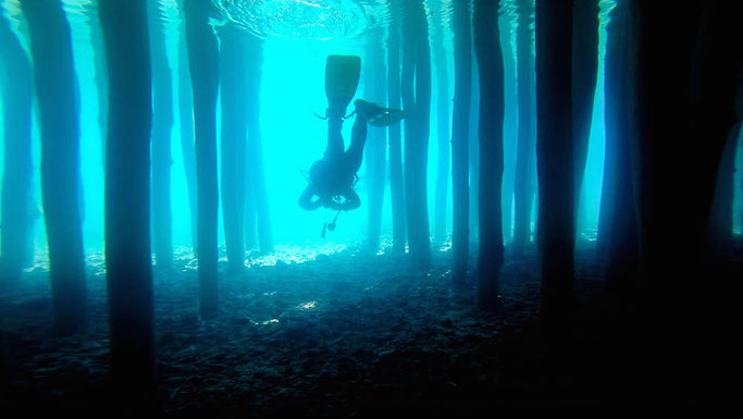 scuba dive in Romania
