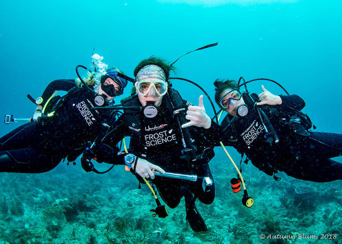Girls that Scuba AOW course