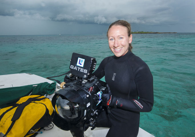 We talk to Becky who is making waves in the scuba industry