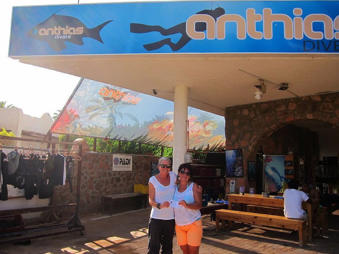 Anthias dive centre Sharm