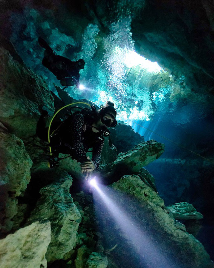 best cenotes to dive in