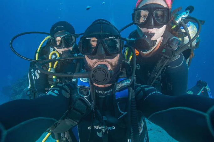 are scuba divers healthier?