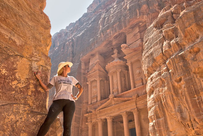I made it to Petra - one of the wonders of the world!