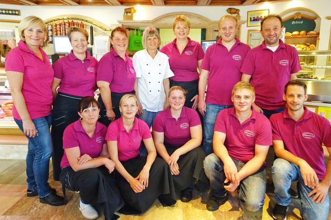 Das Team der Metzgerei Brandstätter   Obertrum am See