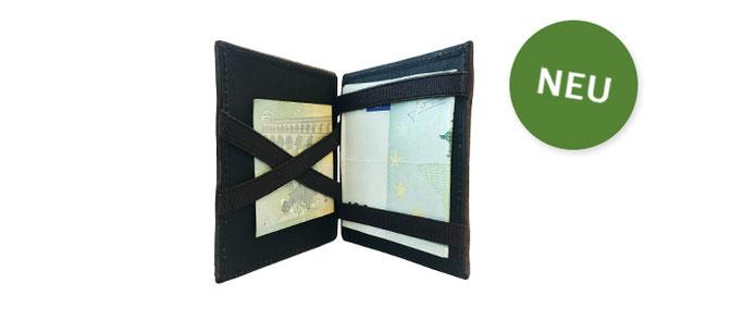 Faltbare Geldbörse aus Kork