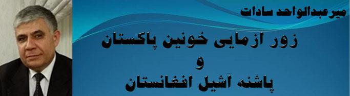 حقیقت ، میر عبدالواحد سادات: پاشنه آشیل افغانستان و زور آزمايی خونين پاكستان
