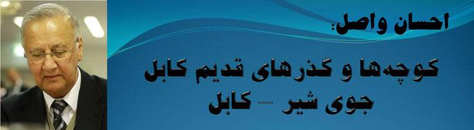 حقیقت ، کوچهها و گذرهای قدیم کابل: جوی شیر – کابل