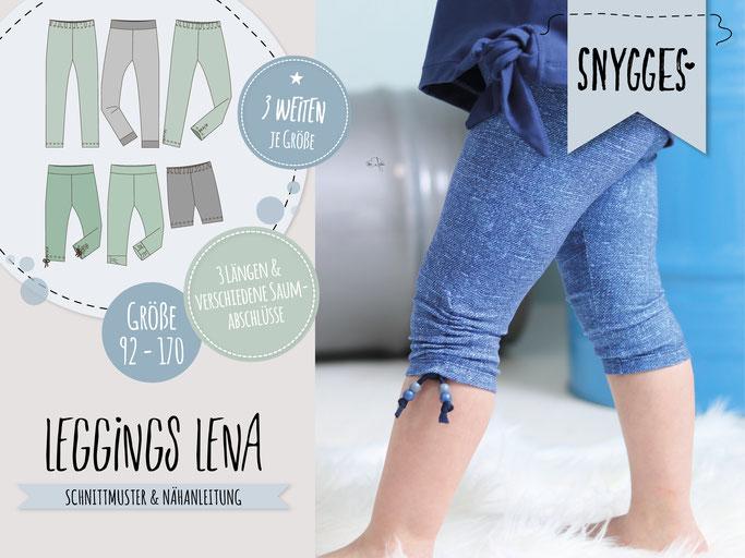 SNYGGES Leggings Lena Schnittmuster