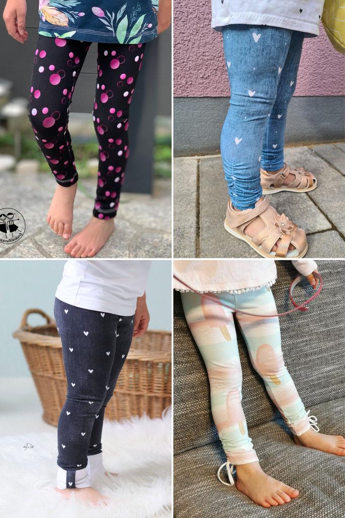 SNYGGES Leggings Lena Schnittmuster - langes Bein