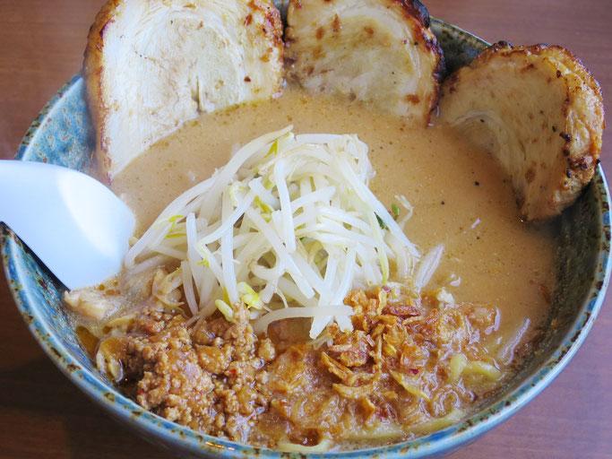 味噌ラーメン房州味噌漬け炙りチャーシュー麺