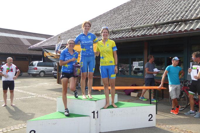 1. Platz: Ulrike Burkhardt  / 2. Platz: Anna Sonntag  / 3. Platz: Sonja Weißenhorn / Wanderlaterne: Sonja