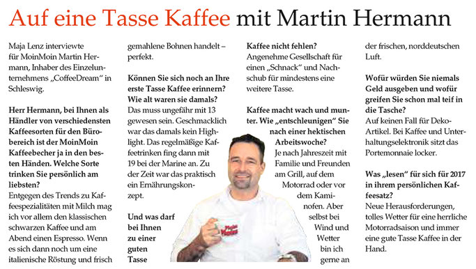Auf eine Tasse Kaffee mit Martin Hermann