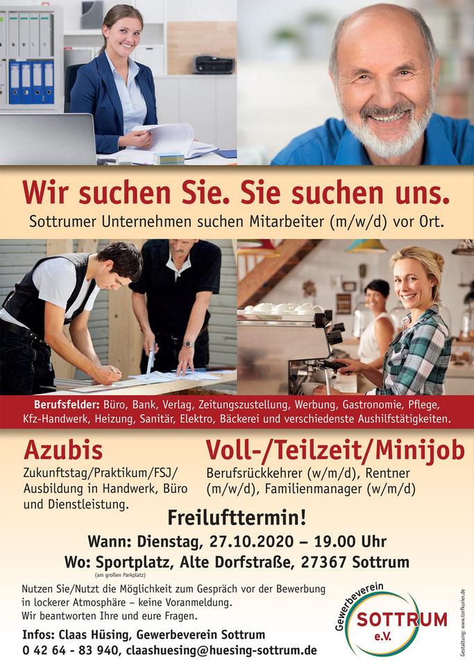Stellenanzeige / Job Messe für Sottrum