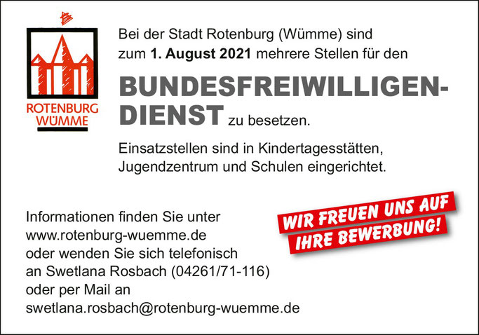 Bufdi ROW  Bufdi Rotenburg Wümme