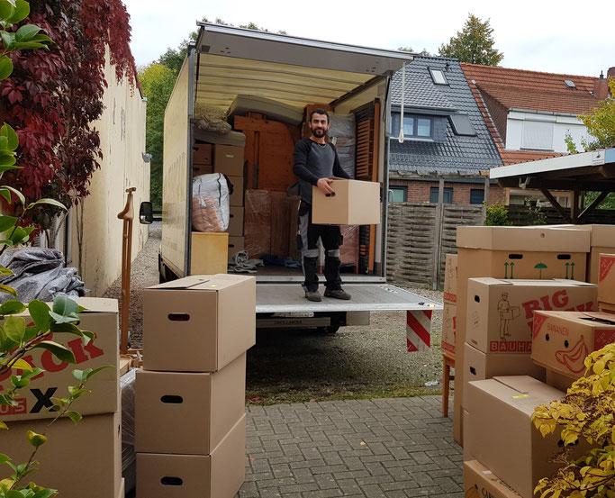 Umzug, Transport, Haushaltsauflösung, Entrümpelung:  LiLi in Lilienthal