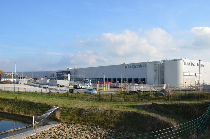 Industriegebiet Elsdorf mit IKEA Logistik