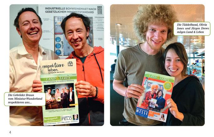 ROW Zeven BRV OHZ Zeitung Magazin 10 Jahre Land und Leben Verlag