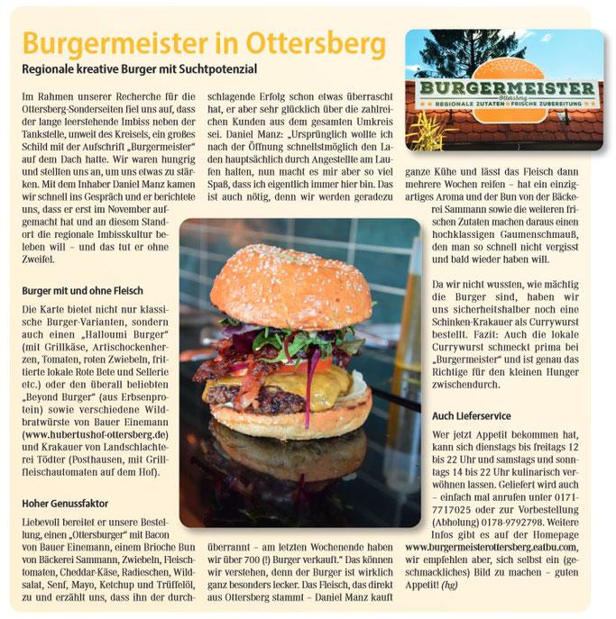 Burgermeister: Hamburger / Burger der Lecker-Klasse ;)