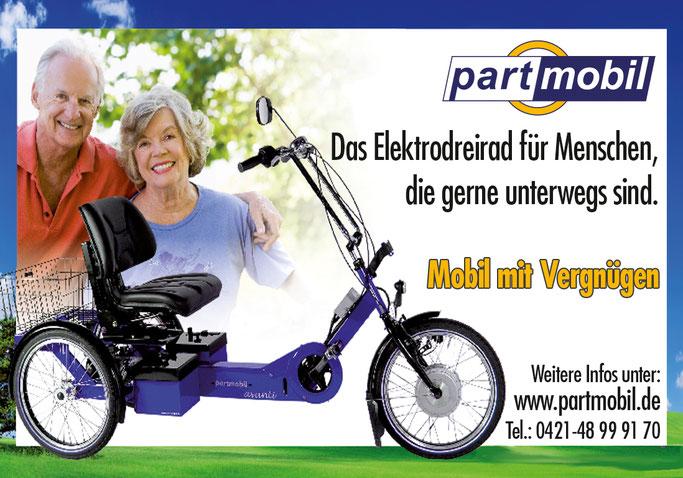 Elektro Dreirad von Partmobil