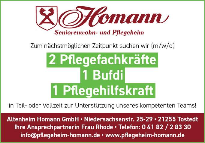 Altenheim Job Tostedt