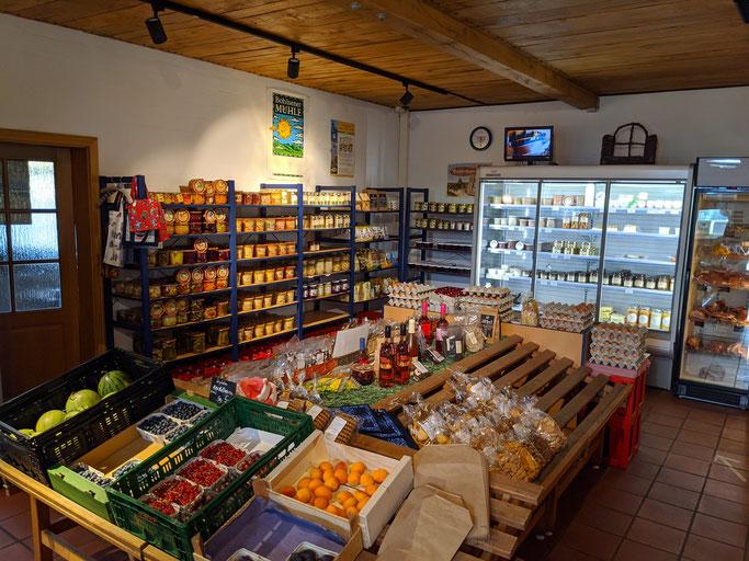 regionale Lebensmittel im Hofladen bei Visselhövede einkaufen