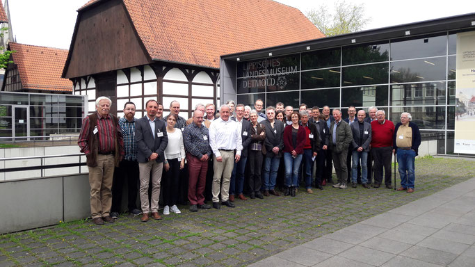 Teilnehmer des 7. Römerkolloquiums - Foto: LLM Detmold