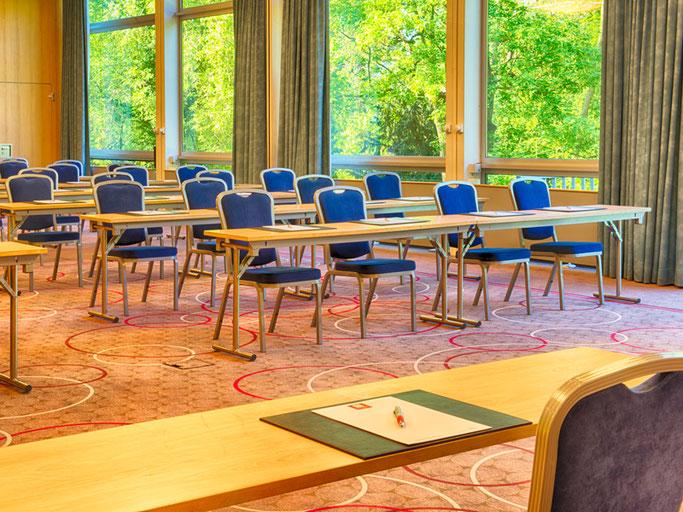 Das Leonardo Royal bietet für das DAKEP-Symposium großzüge Veranstaltungsräume auf zwei Ebenen.