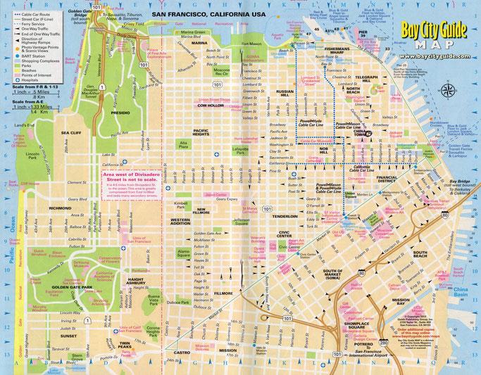 San Francisco - Map