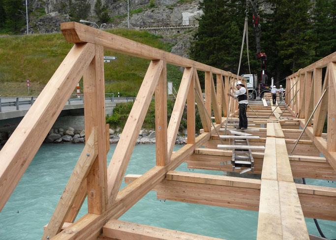 Salzgeber Holzbau S-chanf | Salzgeber Marangun S-chanf | Holzbau | Marangun | Brücke | Holzbrücke