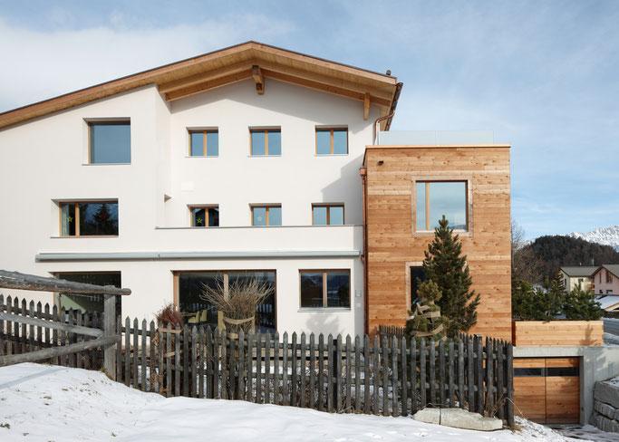 Salzgeber Holzbau S-chanf | Salzgeber Marangun S-chanf | Holzbau | Marangun | Neu- & Elementbau | Neubau | Elementbau |Fassade | Holzfassade