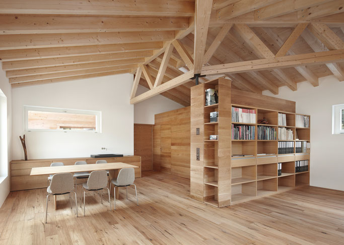 Salzgeber Holzbau S-chanf | Salzgeber Marangun S-chanf | Holzbau | Marangun | Dach | Tet | Holzdach | Tet da lain