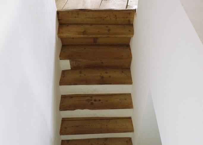 Salzgeber Holzbau S-chanf | Salzgeber Marangun S-chanf | Holzbau | Marangun | Treppe | Holztreppe | Restauration
