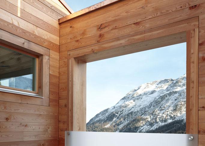 Salzgeber Holzbau S-chanf | Salzgeber Marangun S-chanf | Holzbau | Marangun | Balkon | Holzbalkon