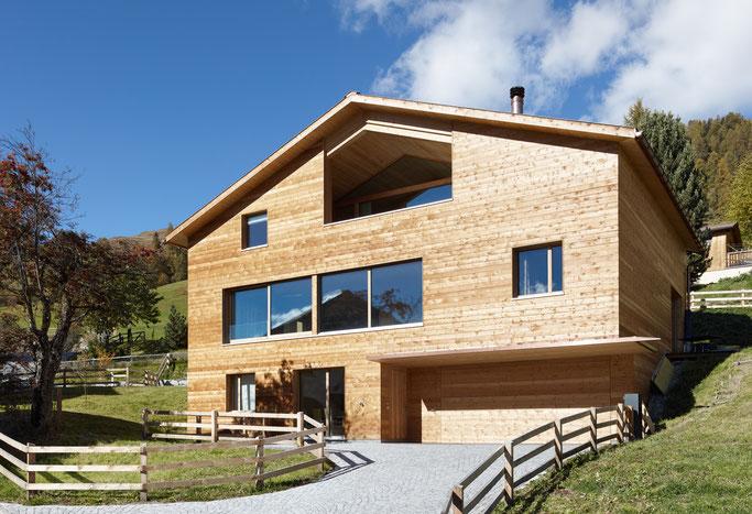 Salzgeber Holzbau S-chanf   Salzgeber Marangun S-chanf   Holzbau   Marangun   Fassade   Holzfassade   Lamellen   Holzhaus