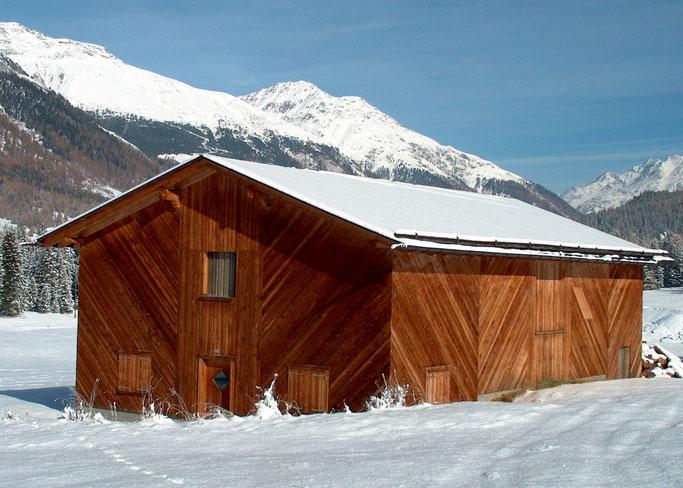 Salzgeber Holzbau S-chanf | Salzgeber Marangun S-chanf | Holzbau | Marangun | Remise | Holzremise