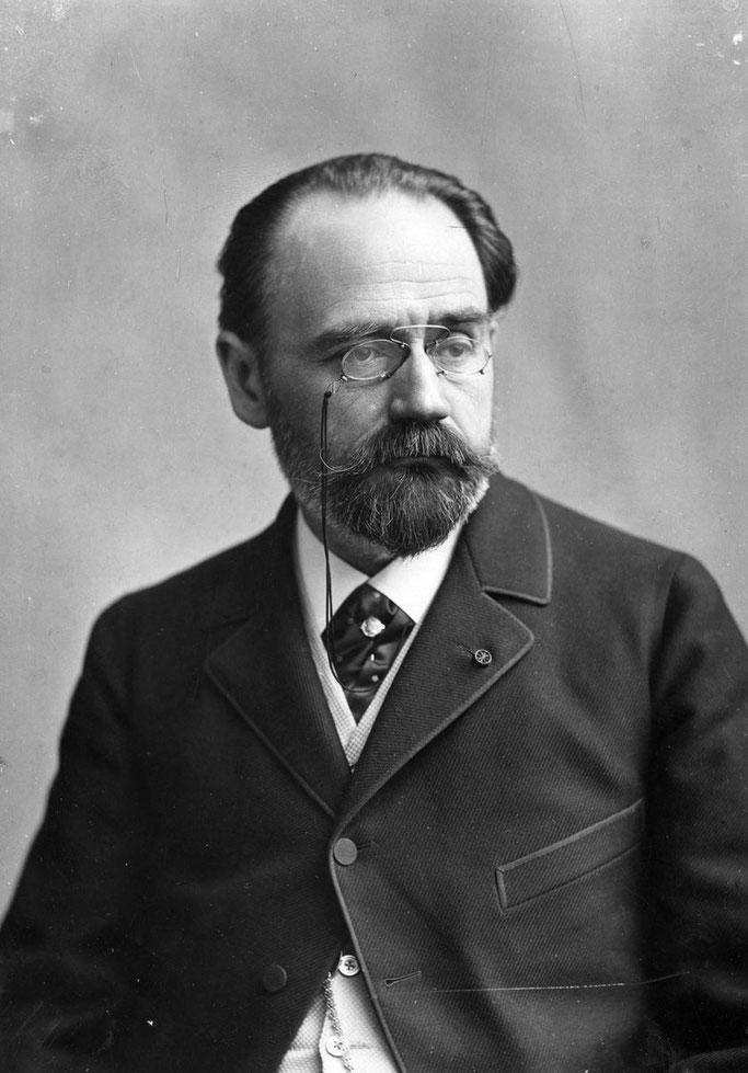Shkrimtari dhe gazetari Emile Zola (1840 – 1902)