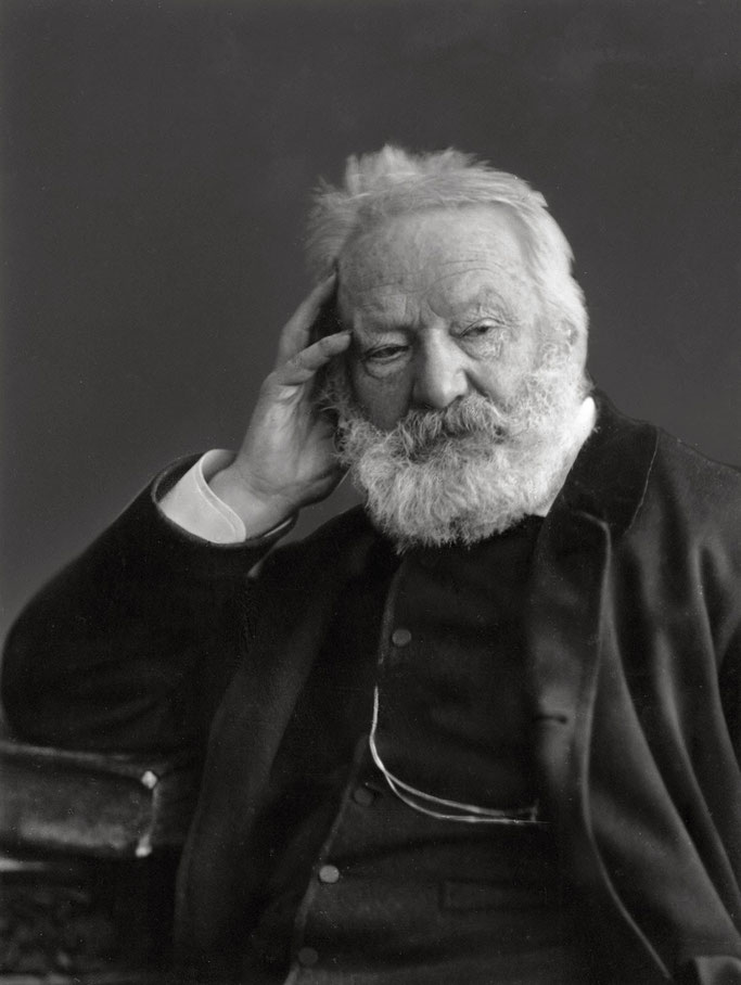 Portret i Victor Hugo nga Nadar (rreth 1884).