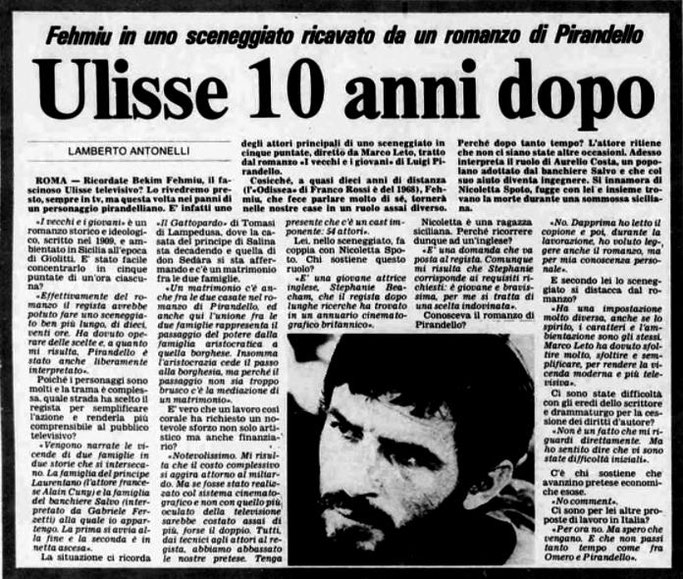 Burimi : Stampa Sera (1978)