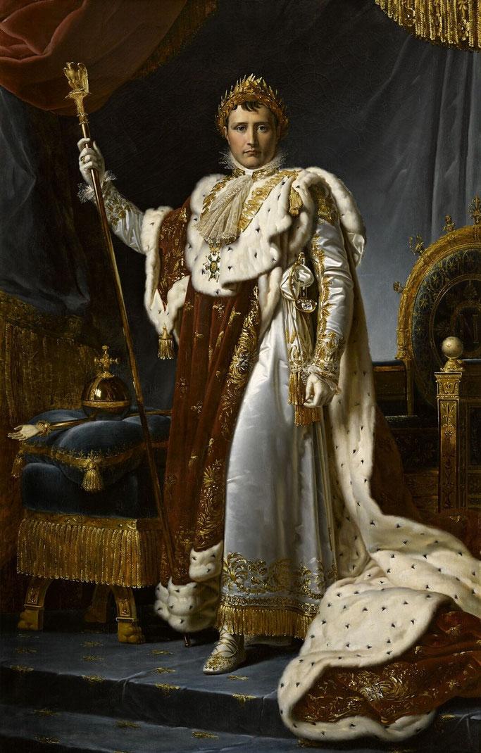Napoleon I, perandor (nga François Gérard, 1805).