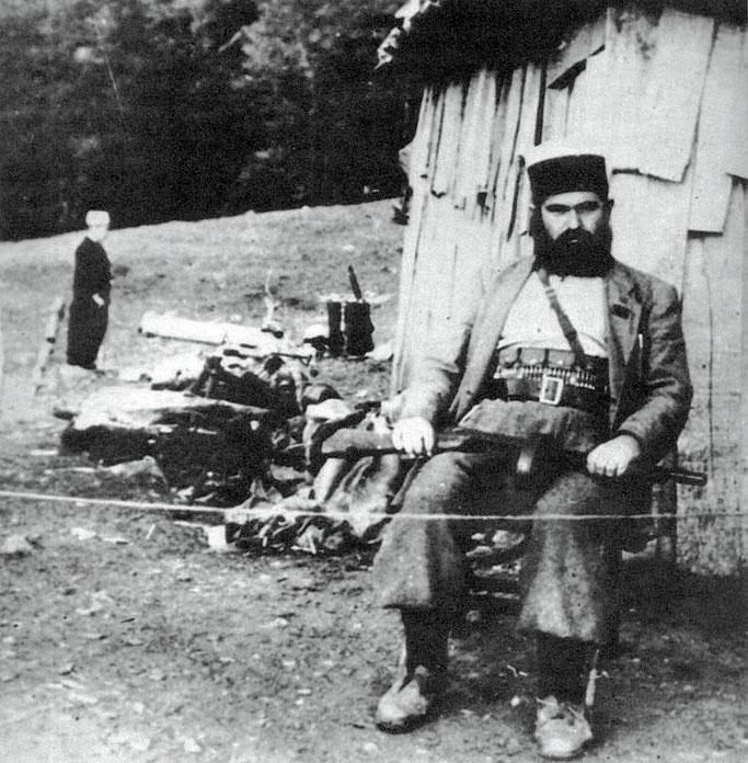 Baba Faja Martaneshi (portret i 1944)